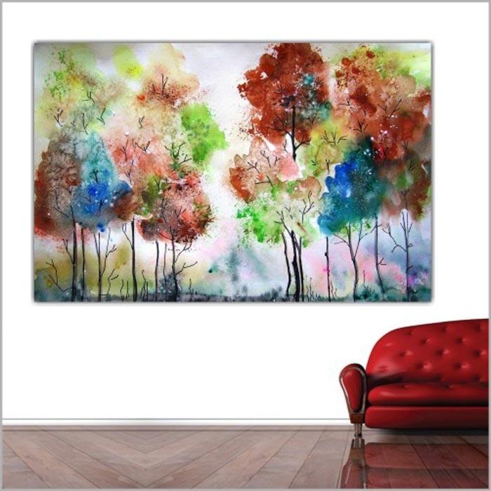 Resim  Doku Tablo Canvas DC184 Tablo - 50x70 cm