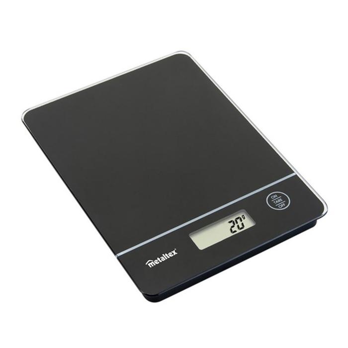 Metaltex Dijital Mutfak Tartısı - Siyah / 5 kg
