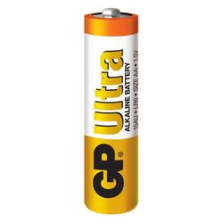 GP Batteries GP15AU Ultra Alkalin LR6/E91/AA Boy Kalem Pil - 1.5 V, 4'lü Kart