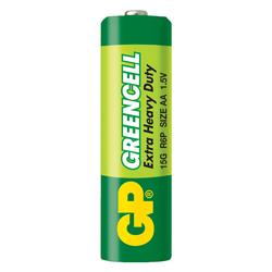GP Batteries GP15G Greencell R6P/1215/AA Kalem Pil - 1.5 V 4'lü Kart
