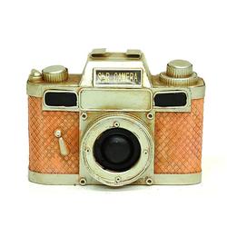 MNK Home C0325 Dekoratif Metal Fotoğraf Makinesi