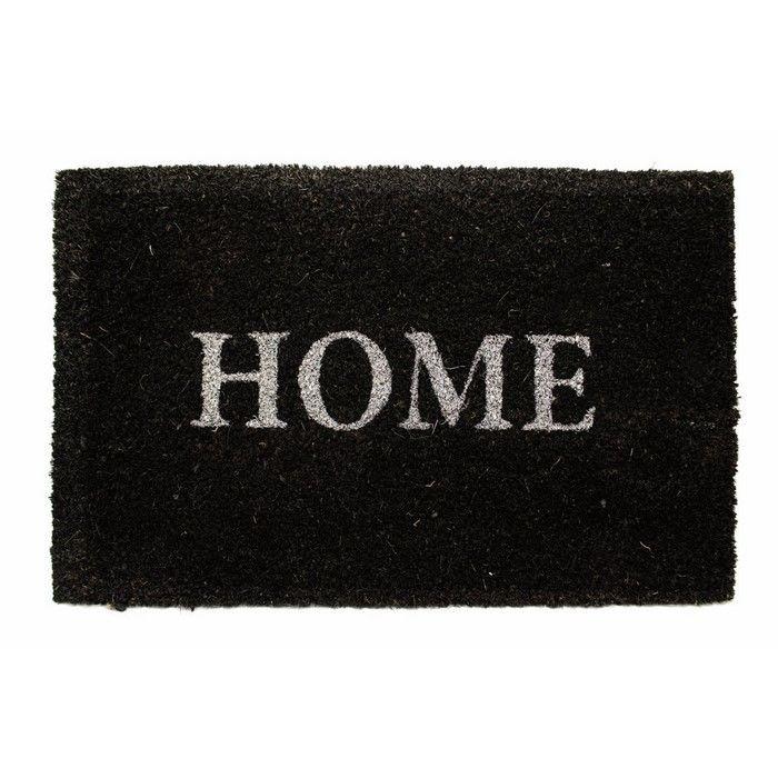 Giz Home Koko Kapı Paspası (Antrasit) - 40x60 cm