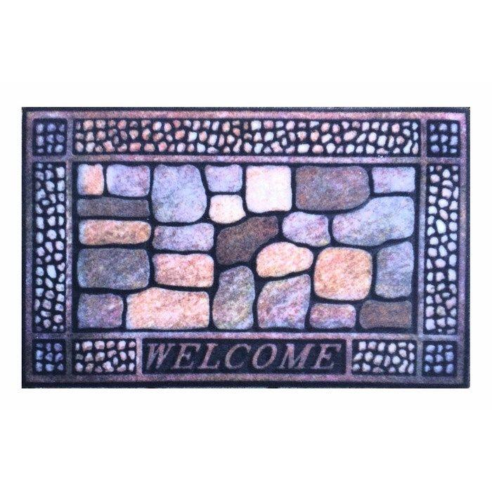 Giz Home WCTS3139 Rock&Roll Kapı Önü Paspası - 45x75 cm