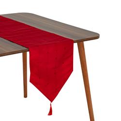 Giz Home Runner (Kırmızı) - 33x183 cm