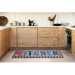 Giz Home Cooky Mutfak Halısı (Mavi) - 50x125 cm