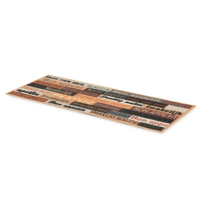 Resim  Giz Home Cooky Mutfak Halısı (Siyah) - 50x125 cm