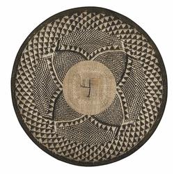 Giz Home Zoya Kilim (Siyah) - 140x140 cm