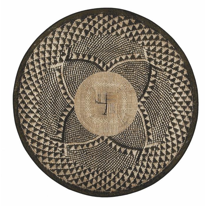 Resim  Giz Home Zoya Kilim (Siyah) - 140x140 cm