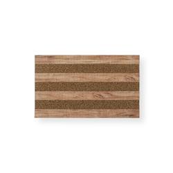 Giz Home Woody Kapı Paspası (Koyu Kahve) - 45x75 cm