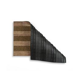 Giz Home Woody Kapı Paspası (Açık Kahve) - 45x75 cm