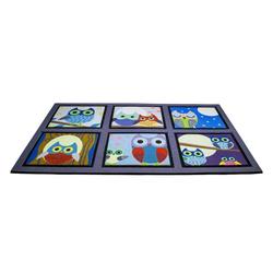 Giz Home Mozaik Kapı Paspası (Mavi) - 45x75 cm