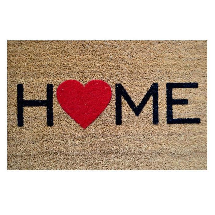 Giz Home Koko Floklu Home Kapı Önü Paspası - 40x60 cm