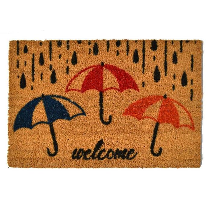 Resim  Giz Home Koko Şemsiye Kapı Önü Paspası - 40x60 cm