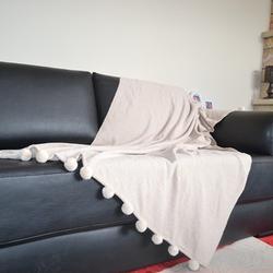 Giz Home Carmel Koltuk Şalı (Bej) - 130x170 cm