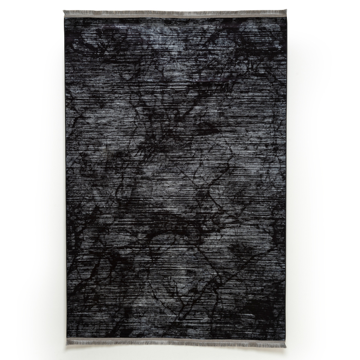Giz Home Velvet Halı (Antrasit) - 160x230 cm