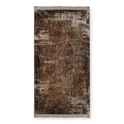 Giz Home Velvet Halı (Haki) - 80x150 cm