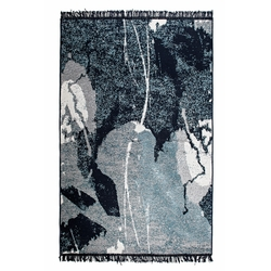 Giz Home Albeni ALB 2 Çİft Yönlü Kilim (Mavi) - 120x180 cm