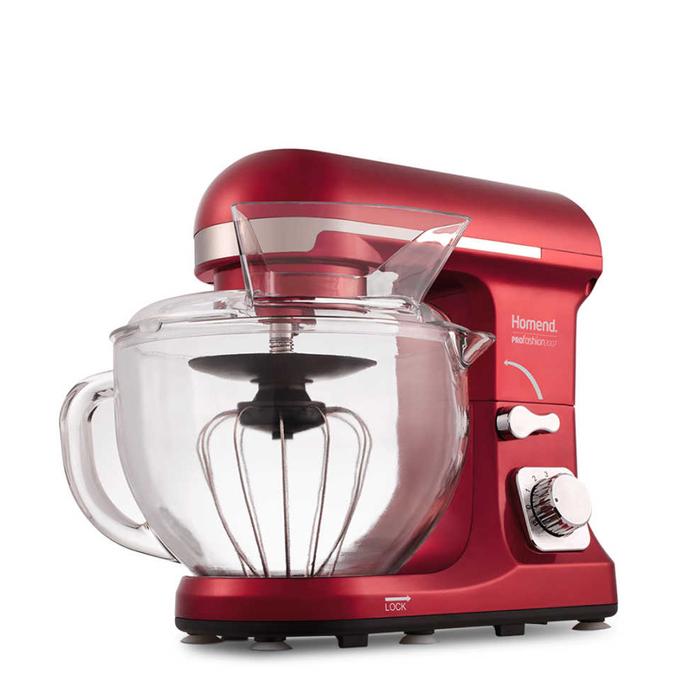 Resim  Homend 3007 Profashıon Profesyonel Mutfak Şefi - Kırmızı / 1000 Watt