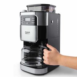 Homend 5002 Coffeebreak Öğütücülü Filtre Kahve Makinesi - Siyah/Gri / 900 Watt