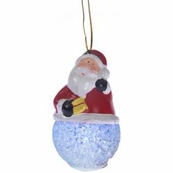 Secret ER 010 Işıklı Noel Baba Dekoratif Obje - Asorti