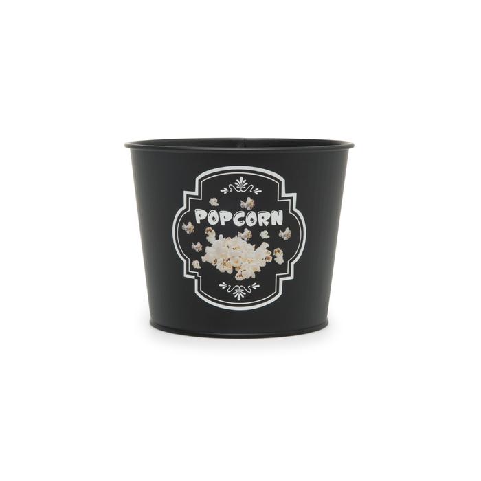 Resim  Evstyle Metal Popcorn Kovası - Siyah