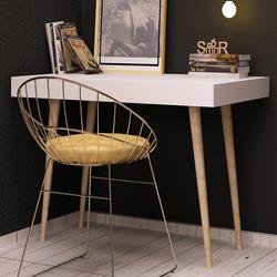 Mymob Pera Beyaz Çalışma Masası - Beyaz