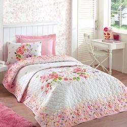 Cottonbox Tek Kişilik Yatak Örtüsü Takımı - Renkli