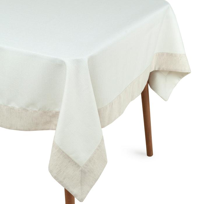 Cynthia Deco New Like Masa Örtüsü (Beyaz) - 150x220 cm