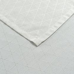 Cynthia Pixy Simli Masa Örtüsü (Bej) - 150x300 cm