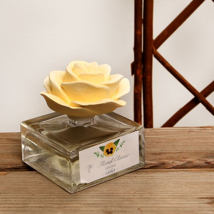 Floral Taşlı Oda Kokusu (Limon Çiçeği) - 50 cc
