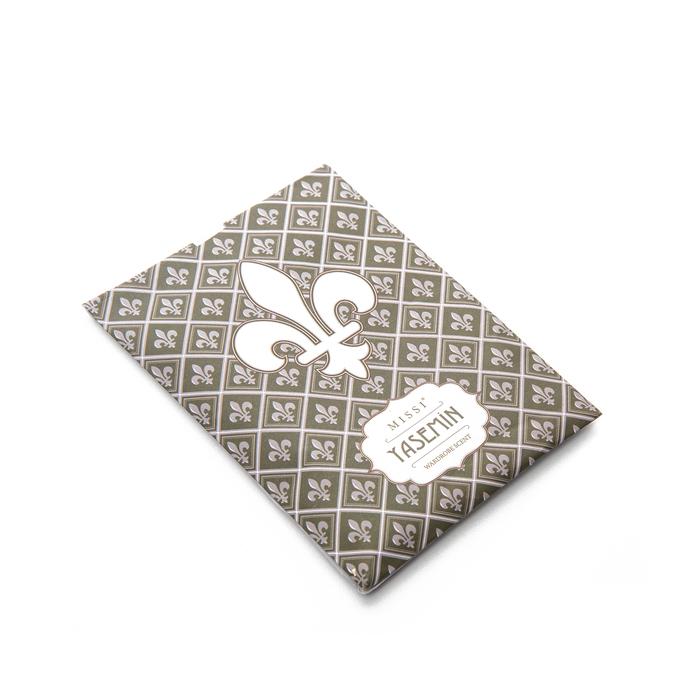 White Collection Granüllü Kokulu Zarf - Yeşil / Yasemin
