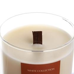 White Collection Büyük Boy Cam İçi Mum - Patcholy