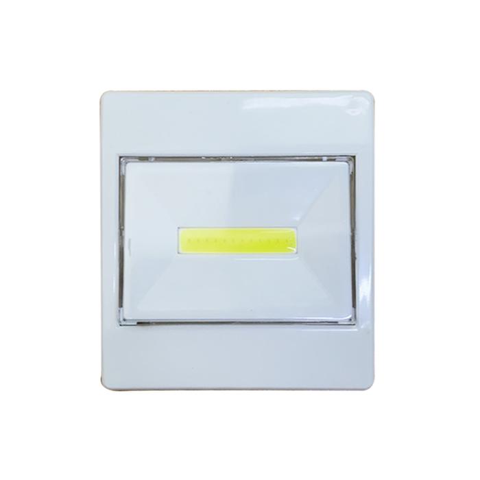 General Home Kare Beyaz Basmatik Işık
