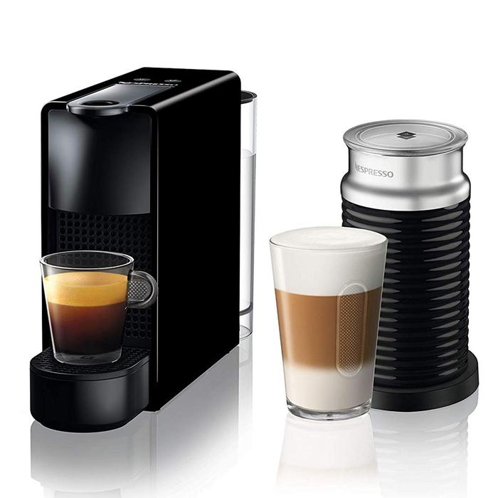 Nespresso C35 Essenza Mini Bundle Kahve Makinesi - Black