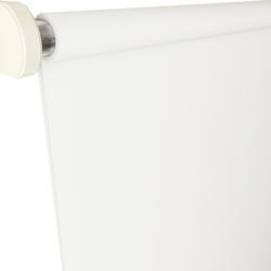 Brillant Etek Dilimli Stor Perde (Beyaz) - 90x260 cm