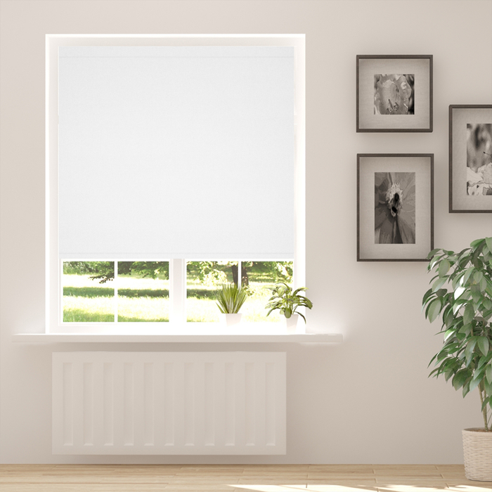 Resim  Taç Blackout Karartma Stor Perde 210x200 BP-100 Beyaz