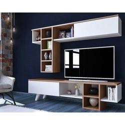 Just Home Romeo Tv Ünitesi - Ceviz / Beyaz