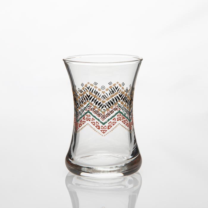 Evoks 6'lı Ethnic Çay Bardağı