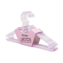 Decobella MK 50613 6'lı Kristal Çocuk Elbise Askısı - Asorti