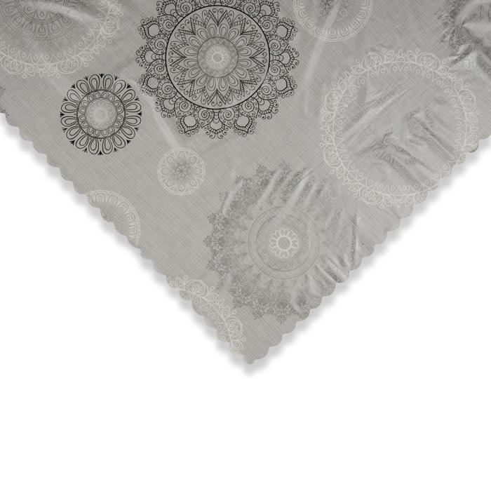 Elyaflı Dikdörtgen Masa Örtüsü - 140x180 cm