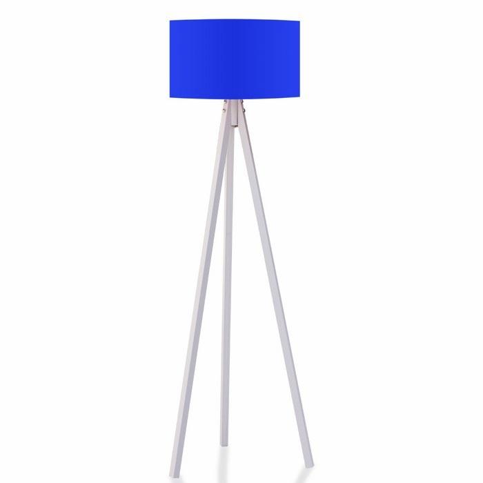 Resim  House Line 3 Ayaklı Tripod Lambader - Mavi / Beyaz