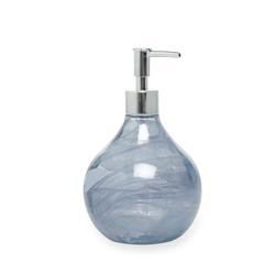 Ang Design Safir Cam Sıvı Sabunluk - Turkuaz