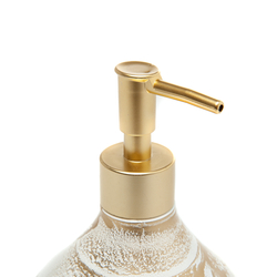 Ang Design Mina Cam Sıvı Sabunluk - Altın