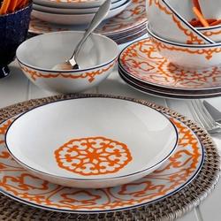 Kütahya Porselen 596619 Dekor 24 Parça Yemek Seti