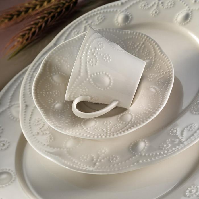 Kütahya Porselen Fulya 24 Parça Yemek Takımı