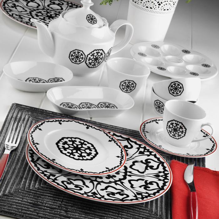 Kütahya Porselen Leonberg 41 Parça Kahvaltı Takımı