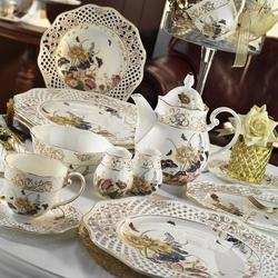 Kütahya Porselen 38 Parça Bone China 21102 Desen Kahvaltı Takımı