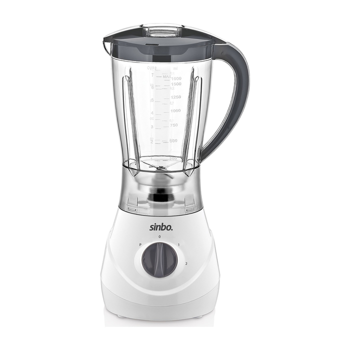 Sinbo SHB 3062 Turbo Smoothie Blender - Beyaz / 1000 Watt