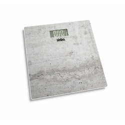Sinbo SBS 4451 Cam Baskül - Gri / 180 kg
