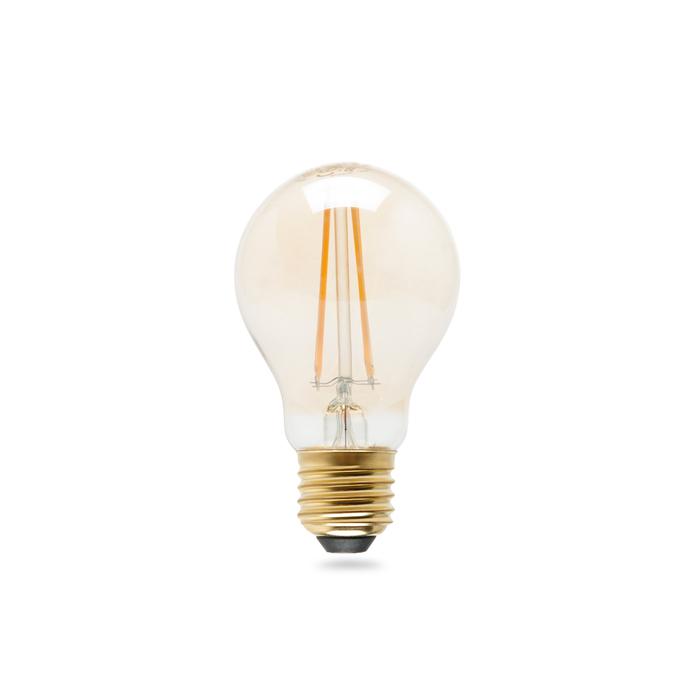 Resim  Osram A60 Vintage 1906 Led Cl A Fıl Gold 55 Non-Dim 7W E27 Sarı Işık Ampul